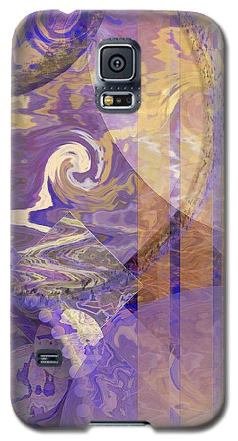 Lunar Impressions Galaxy S5 Case featuring the digital art Lunar Impressions by John Beck
