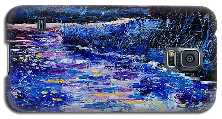 River Galaxy S5 Case featuring the painting Magic Pond by Pol Ledent
