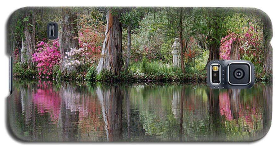Magnolia Plantation Galaxy S5 Case featuring the photograph Magnolia Plantation Gardens Series Iv by Suzanne Gaff