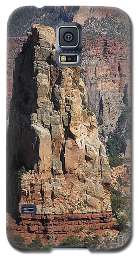 Rock Galaxy S5 Case featuring the photograph Majestic by Louise Magno