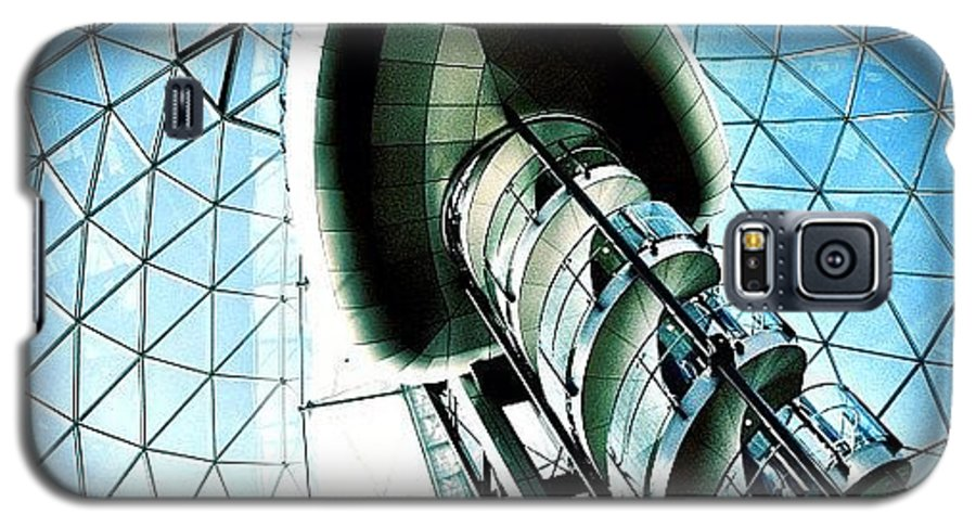 Shop Galaxy S5 Case featuring the photograph Mall by Mark B
