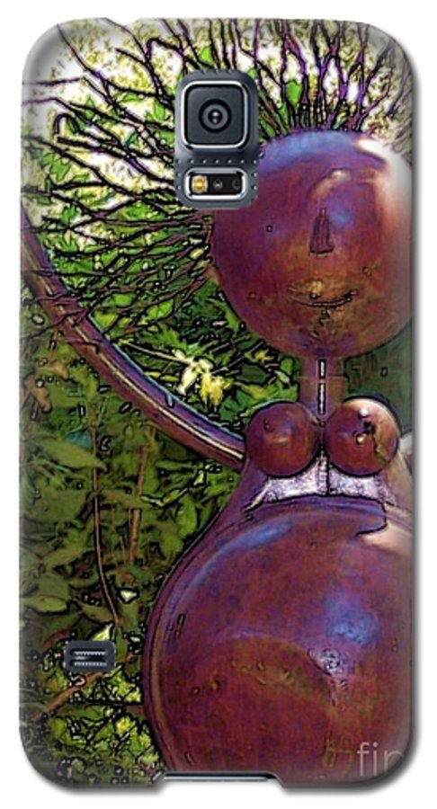 Sculpture Galaxy S5 Case featuring the photograph Mama Tool by Debbi Granruth