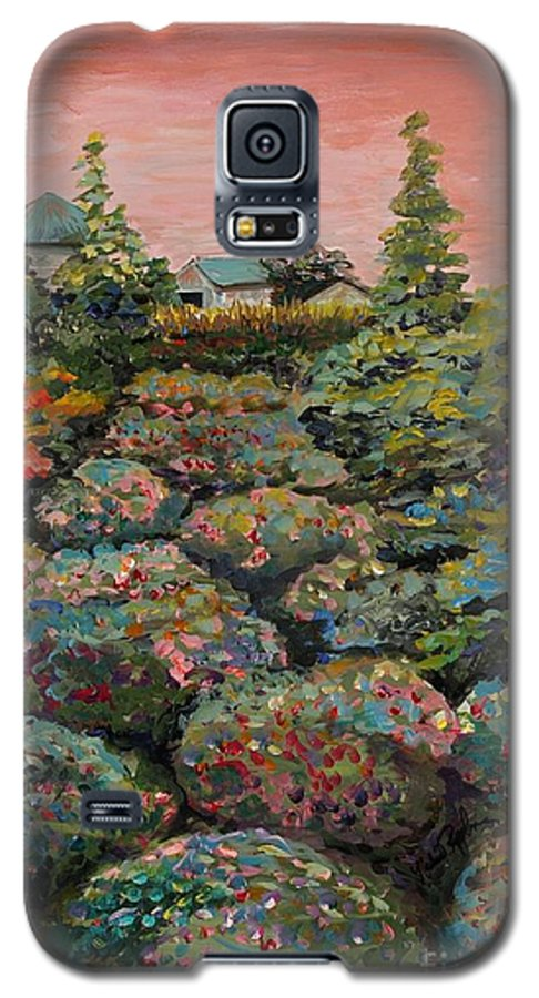 Minnesota Galaxy S5 Case featuring the painting Minnesota Memories by Nadine Rippelmeyer