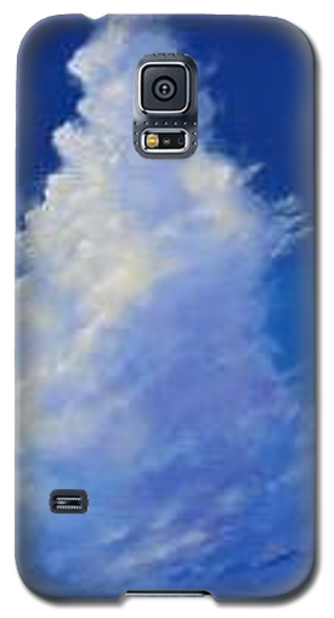 Clouds Galaxy S5 Case featuring the painting Minor Earth Major Sky by Hunter Jay