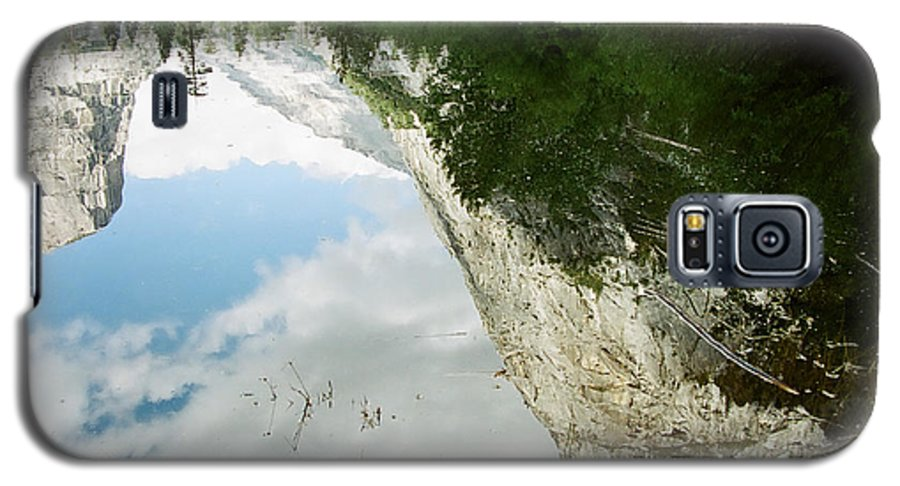 Mirror Lake Galaxy S5 Case featuring the photograph Mirrored by Kathy McClure