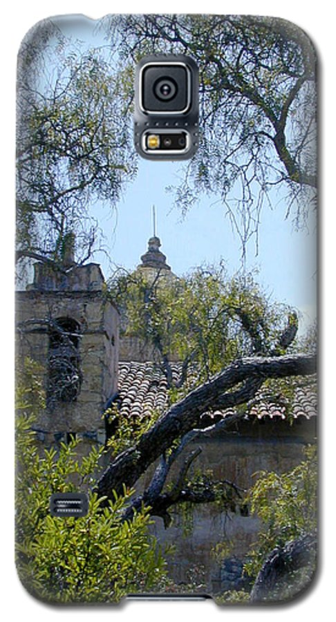 Mission Galaxy S5 Case featuring the photograph Mission At Carmell by Douglas Barnett