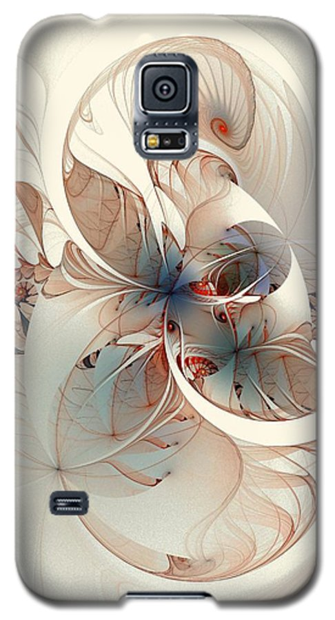 Galaxy S5 Case featuring the digital art Mollusca by Amanda Moore