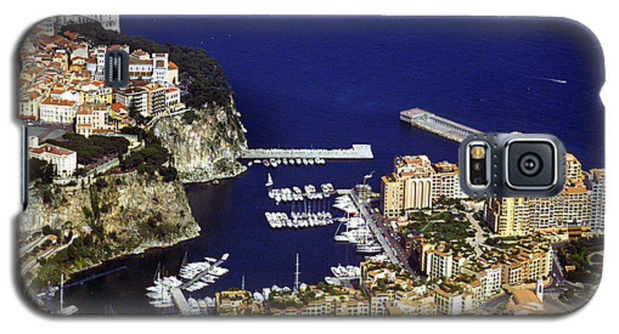 Rich Galaxy S5 Case featuring the photograph Monaco On The Mediterranean by Carl Purcell