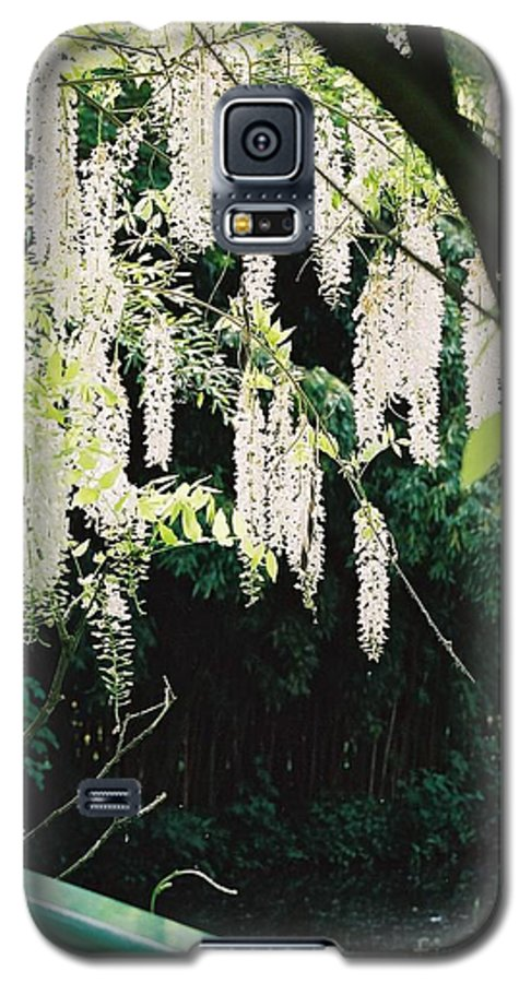 Monet Galaxy S5 Case featuring the photograph Monet's Garden Delights by Nadine Rippelmeyer