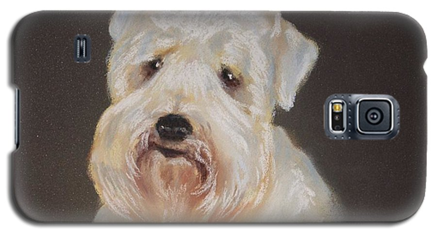 Pet Galaxy S5 Case featuring the painting Monique's Bailey by Carol Mueller