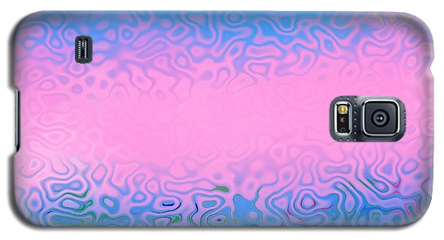 Morning.sea.fog.sun.water Illusions.morning Cold.colors Blue.rose. Galaxy S5 Case featuring the digital art Morning Sea Fog.cold Water by Dr Loifer Vladimir