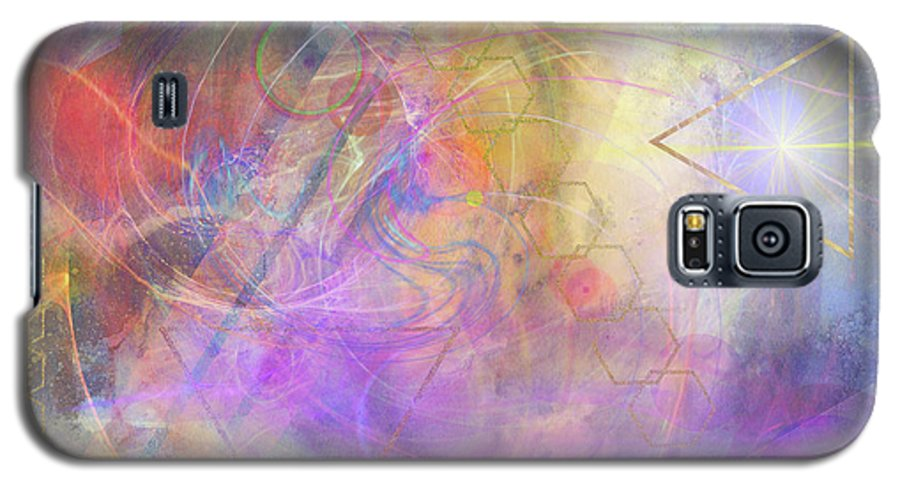 Morning Star Galaxy S5 Case featuring the digital art Morning Star by John Beck