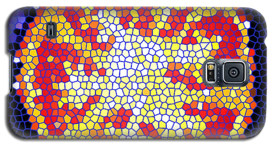 Tomato Galaxy S5 Case featuring the photograph Mosaic Tomato by Nancy Mueller