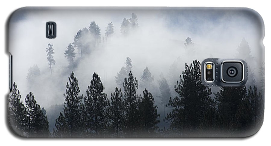 Fog Galaxy S5 Case featuring the photograph Mountain Mist by Idaho Scenic Images Linda Lantzy