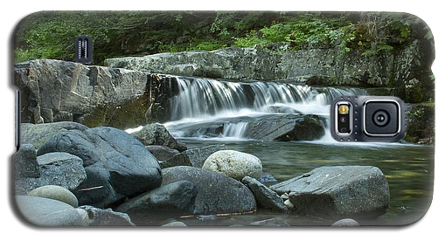 Stream Galaxy S5 Case featuring the photograph Mountain Stream by Idaho Scenic Images Linda Lantzy