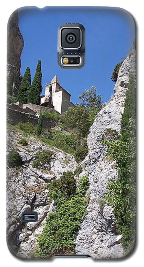 Church Galaxy S5 Case featuring the photograph Moustier St. Marie Church by Nadine Rippelmeyer