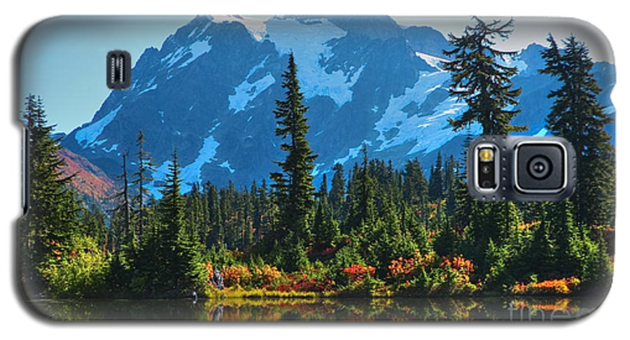 Mt. Shuksan Galaxy S5 Case featuring the photograph Mt. Shuksan by Idaho Scenic Images Linda Lantzy