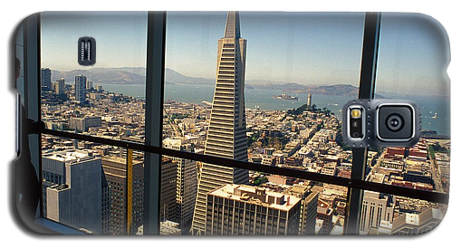 San Francisco Galaxy S5 Case featuring the photograph My City On The Bay by Carl Purcell