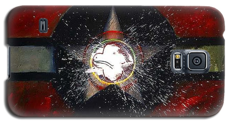 Usaaf Insignia Galaxy S5 Case featuring the painting My Indian Red by Charles Stuart