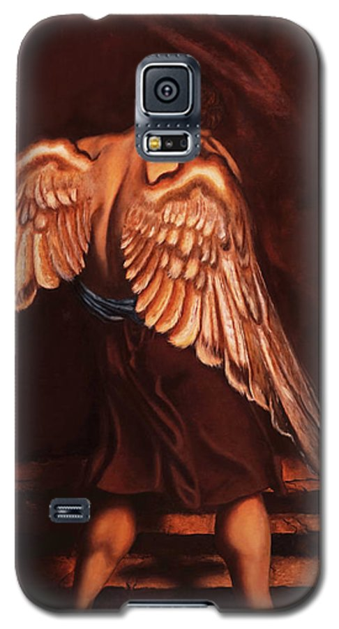 Giorgio Galaxy S5 Case featuring the painting My Soul Seeks For What My Heart Lost by Giorgio Tuscani