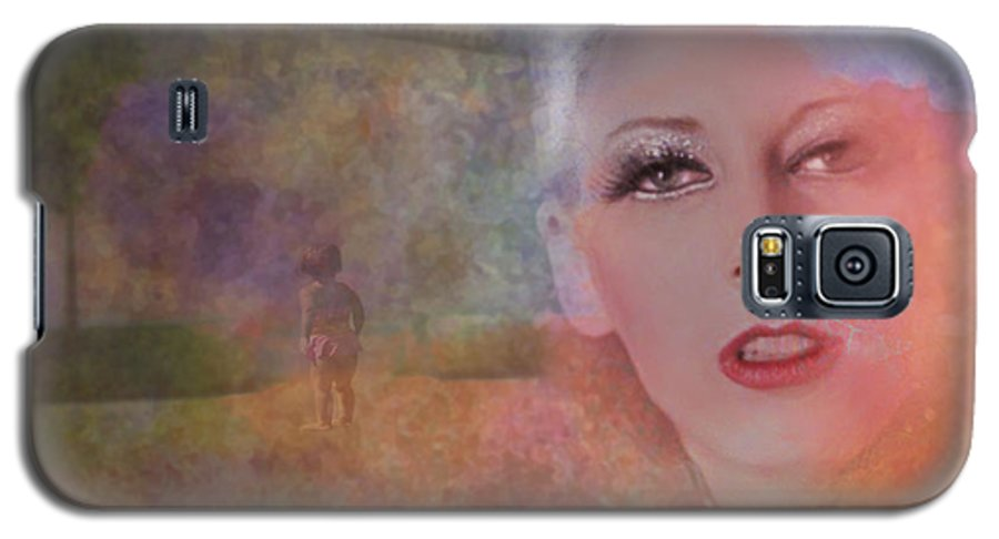 Woman Galaxy S5 Case featuring the photograph Mystic Woman by Jeff Burgess