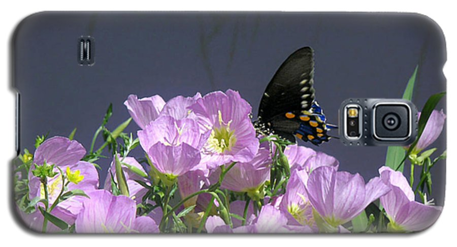 Nature Galaxy S5 Case featuring the photograph Nature In The Wild - Profiles By A Stream by Lucyna A M Green