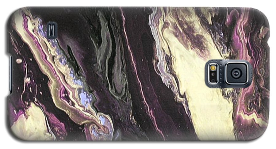 Abstract Galaxy S5 Case featuring the painting No Ordinary Love by Patrick Mock
