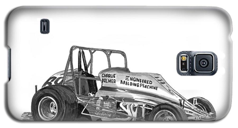 Non Wing Sprint Race Car Galaxy S5 Case