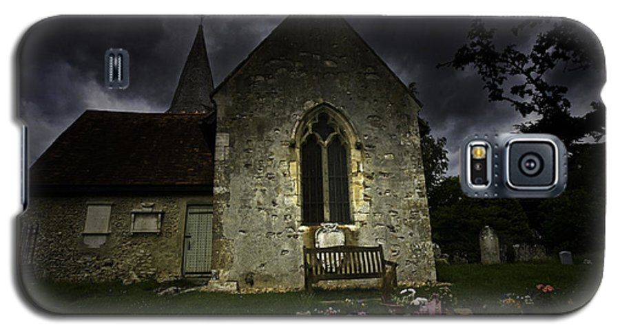 Church Galaxy S5 Case featuring the photograph Norman Church At Lissing Hampshire England by Sheila Smart Fine Art Photography