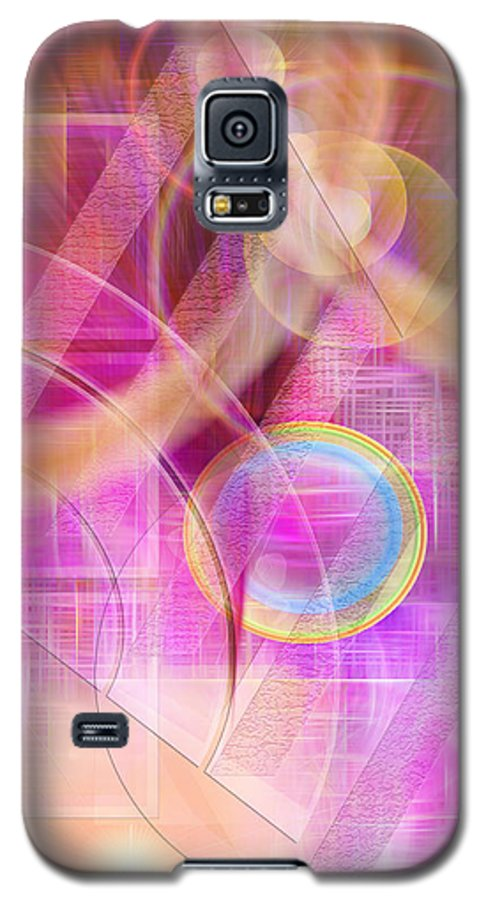 Northern Lights Galaxy S5 Case featuring the digital art Northern Lights by John Beck