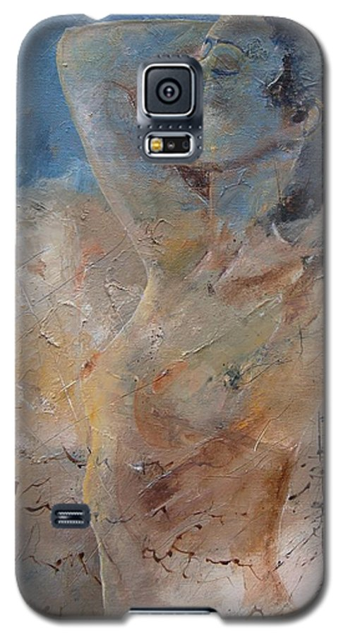 Nude Galaxy S5 Case featuring the painting Nude 0508 by Pol Ledent