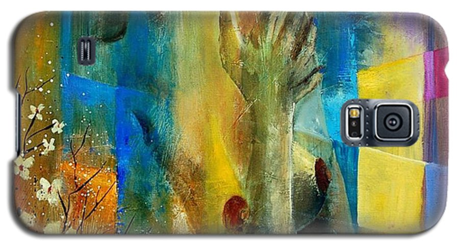 Nude Galaxy S5 Case featuring the painting Nude 5609082 by Pol Ledent