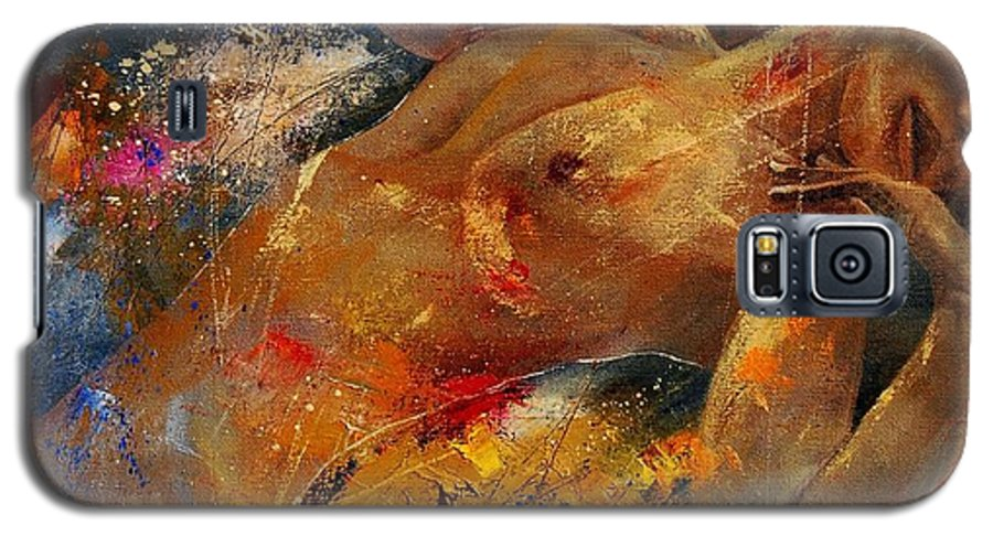 Nude Galaxy S5 Case featuring the painting Nude 67 0407 by Pol Ledent