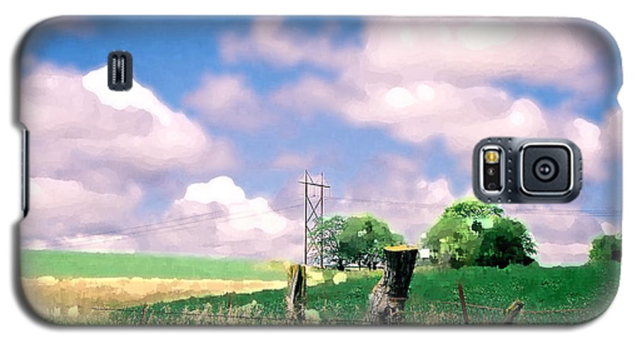 Landscape Galaxy S5 Case featuring the photograph Off The Grid by Steve Karol