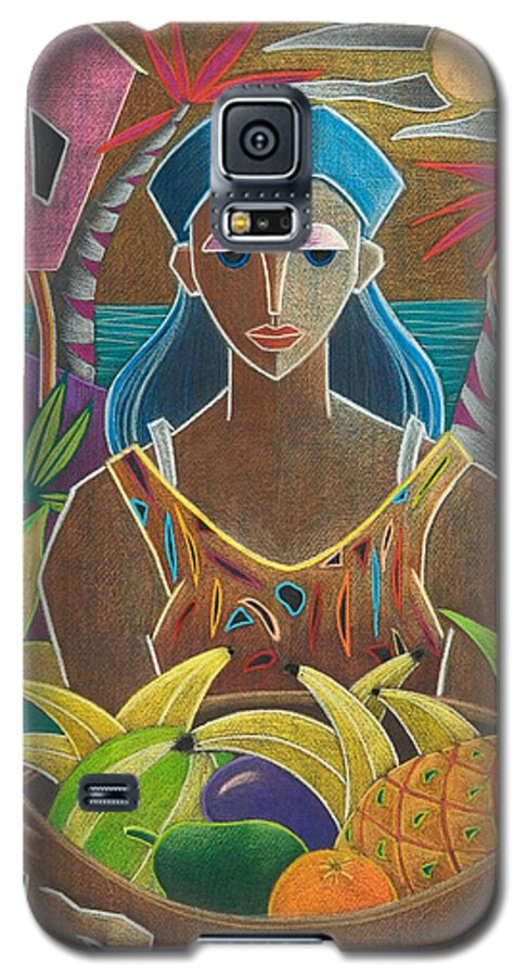 Female Galaxy S5 Case featuring the painting Ofrendas De Mi Tierra by Oscar Ortiz
