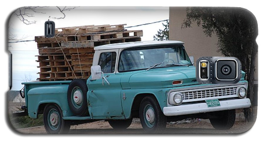 Old Truck Galaxy S5 Case featuring the photograph Old Chevy by Rob Hans