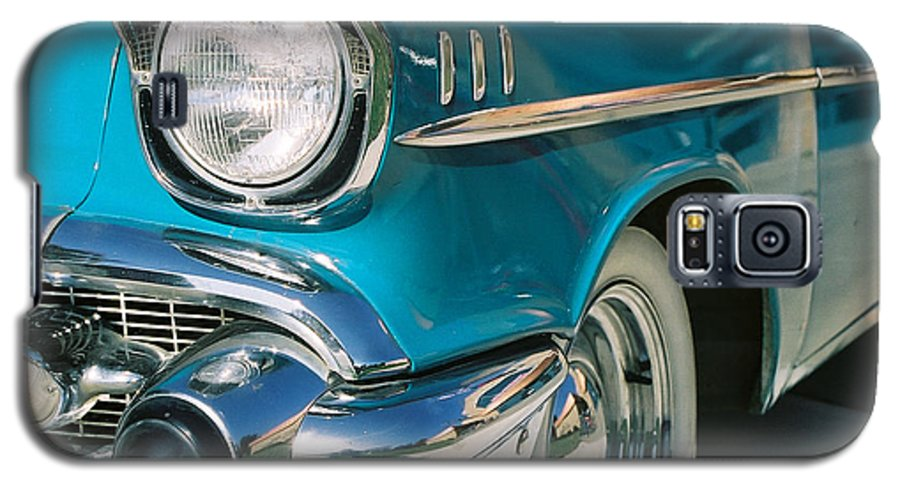 Chevy Galaxy S5 Case featuring the photograph Old Chevy by Steve Karol