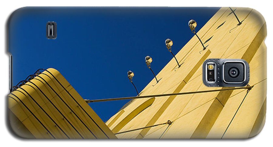 Electric Galaxy S5 Case featuring the photograph Old School Vegas by Skip Hunt