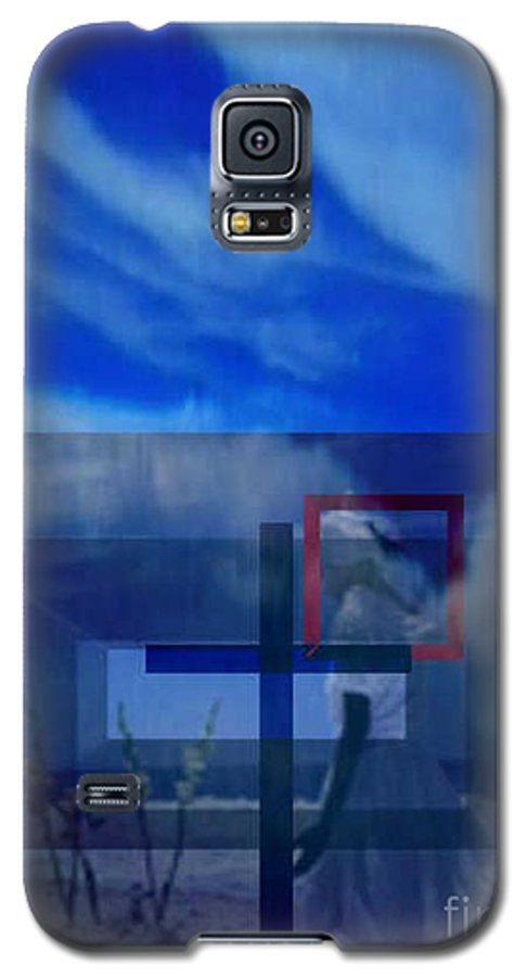Inspirational Galaxy S5 Case featuring the digital art On Bended Knees by Brenda L Spencer