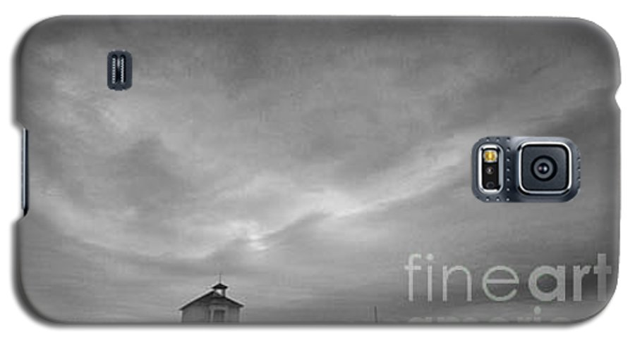 Landscape Galaxy S5 Case featuring the photograph One Room Schoolhouse by Michael Ziegler