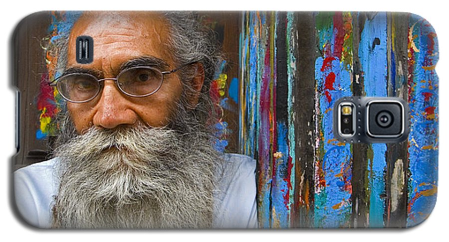 Architecture Galaxy S5 Case featuring the photograph Orizaba Painter by Skip Hunt