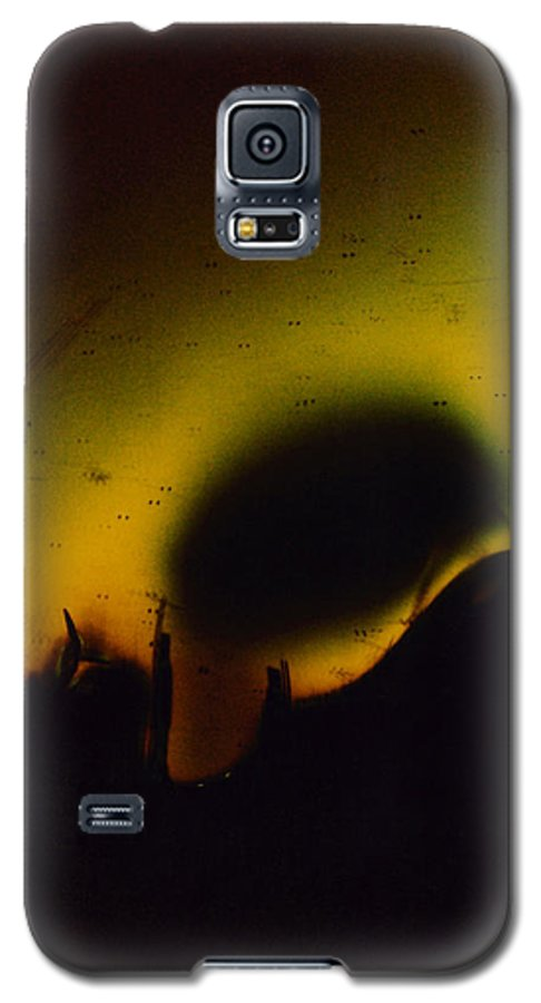 Abstract Galaxy S5 Case featuring the photograph Ormand by David Rivas