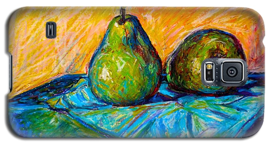 Still Life Galaxy S5 Case featuring the painting Other Pears by Kendall Kessler