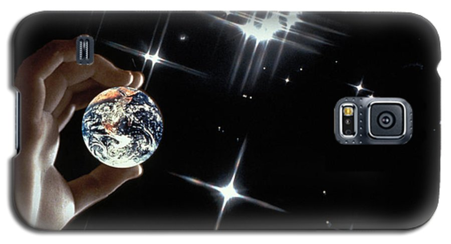 Stars Galaxy S5 Case featuring the photograph Our Precious Planet by Carl Purcell