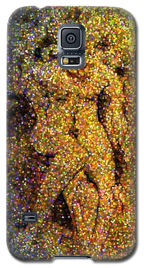 Abstract Galaxy S5 Case featuring the digital art Out Of Eden by Dave Martsolf