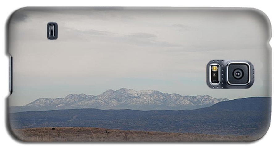Mountains Galaxy S5 Case featuring the photograph Overcast On The Sandias by Rob Hans
