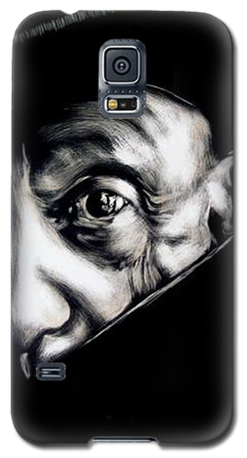 Galaxy S5 Case featuring the mixed media Pablo by Chester Elmore