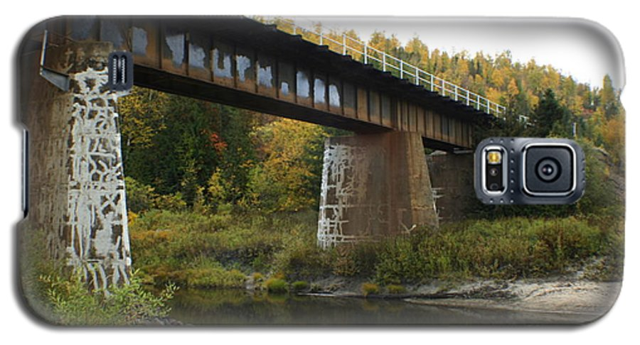 Bridge Galaxy S5 Case featuring the photograph Pack River Bridge by Idaho Scenic Images Linda Lantzy