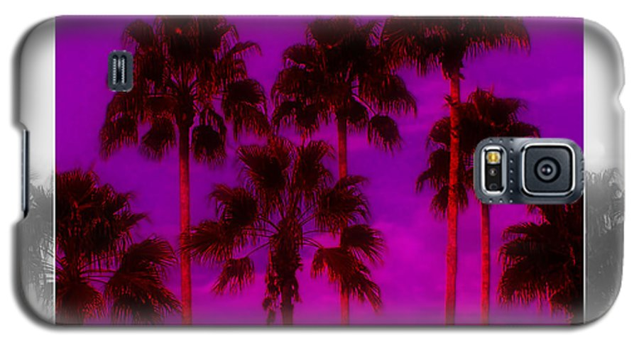Palm Galaxy S5 Case featuring the photograph Palm Tree Heaven by Kenneth Krolikowski