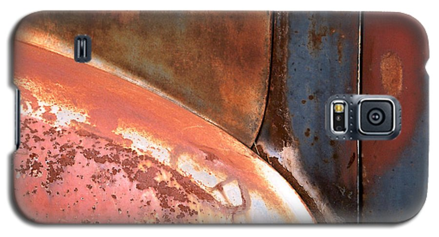 Abstract Galaxy S5 Case featuring the photograph Panel From Ole Bill by Steve Karol
